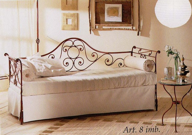 Letti A Castello In Ferro Battuto.Upholstered Camelia Online Sale Of Wrought Iron Beds Bologna