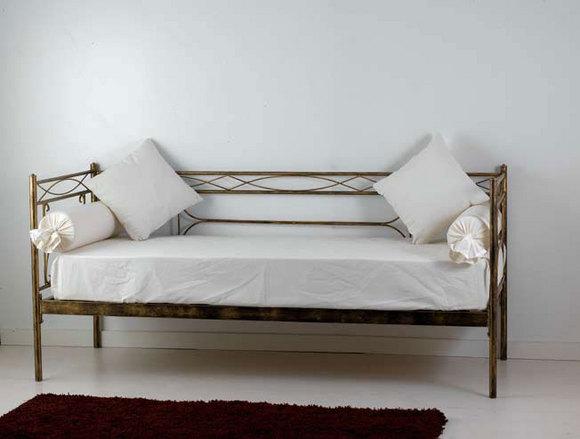 Divano letto penelope vendita on line di letti in ferro - Letto a castello in ferro battuto ...